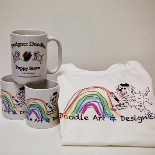 T-Shirts, Mugs, Bags